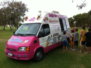 Ice Cream Van Hire Perth for Events