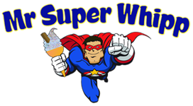 Mobile Ice Cream Van Perth | Mr Super Whipp | Soft Serve Logo